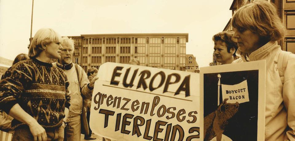 Das europ. Volk ist schon lang entmündigt...